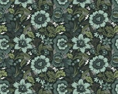 1 yard of Spider Blossom in Vapor- Nightshade by Tula Pink