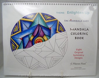 Enlighten Up Mandala Coloring Book