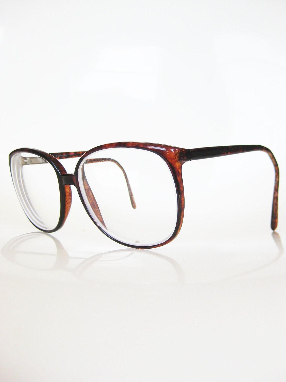 Eyeglasses Frames Wayfarer : Vintage ITALIAN Eyeglass Frames WAYFARER 1980s Glasses