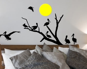 Pelican's Cove Vinyl Wall Decal