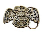 Vintage Belt Buckle - Pacific Northwest Haida Bird