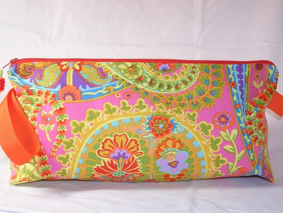 Paisley Jungle Anna Clutch for Colorwork