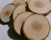 Reserved 50 3 inch Tree Branch Slices
