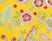 Dena Designs Fabric Pretty Little Things Emma Yellow 1 yard cut, yardage available