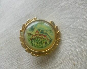 Vintage Liechtenstein Lapel Pin