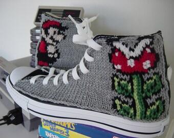 Mario Knit Chucks
