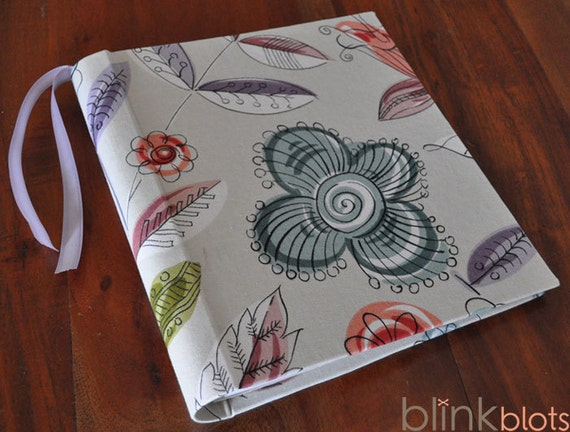 Baby Memory Book -Flowers
