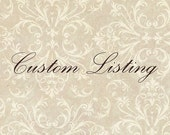 Custom Listing For Yaz