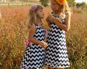 Classic A-line Girls Dress Sewing Pattern size 2T 3T 4 5 6 7 8 10
