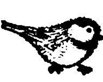 Bird Rubber Stamp for Craft Projects Scrapbooking Jewelry Making