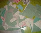 Vintage quilt scraps 3oz