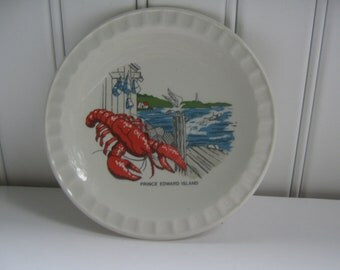 Vintage Souvenir Trinket Dish Lobster Ashtray - Canada PEI