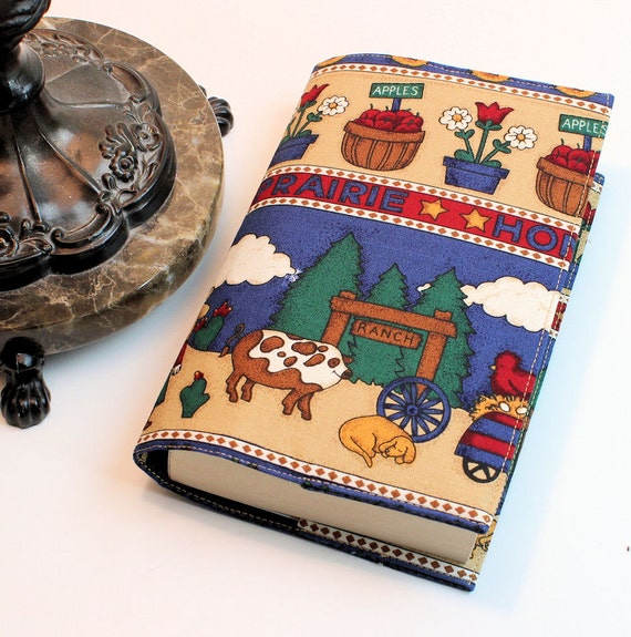 Fabric Book Cover For Sale ~ Sale fabric paperback book cover on the prairie by