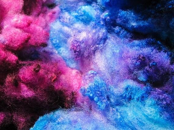 Tituba - Supersoft Cormo Fleece Hand Dyed