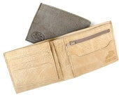 Men's Leather Wallet - in NUDE - NATURAL BROWN - (No. 314)