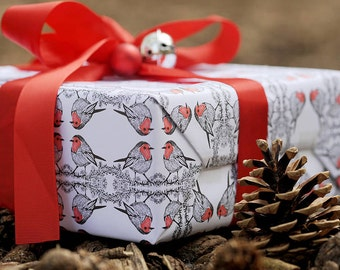 Robin Print Wrapping Paper