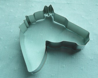 Horse Head Cookie Cutter 4.5 inches