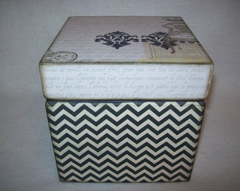 Shabby Chic Memory Keepsake Box