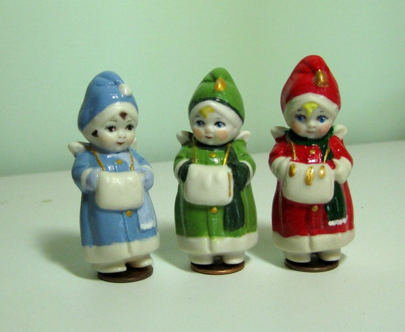 Penny Dolls with Muffs German Angels
