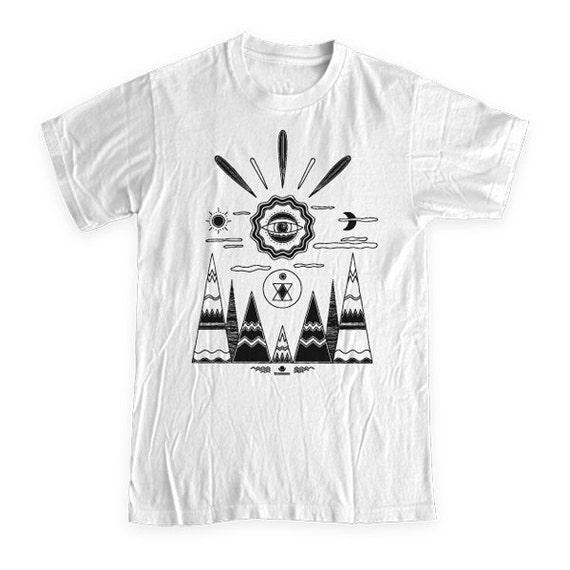 Waiting Landscape T-Shirt - Small