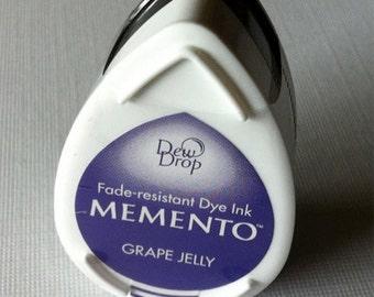 Tsukineko Memento Dew Drops -  Grape Jelly