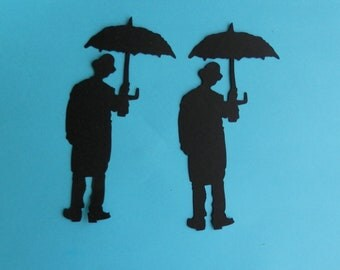 4  Umbrella Man - Tim Holtz die cuts