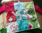 Mini 9 Patch Quilt Ornament Kit