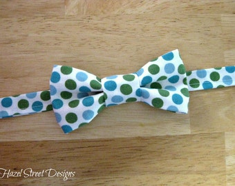 Little Boy Bow Tie - Fabric Options