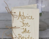 Bridal Shower Guest Book Gold Shabby Chic Wedding Decor (Item Number 140207)