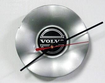 1993 - 2000 Volvo Hubcap Clock - 850 S70 V70 Hub Cap - 1994 1995 1996 1997 1998 1999 - Modern Office Decor