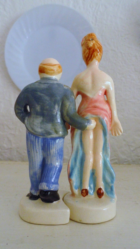 On Sale OMG Risque Salt and Pepper Shakers. Oh & Ahhh, put them together and what will you see FREE shipping within US