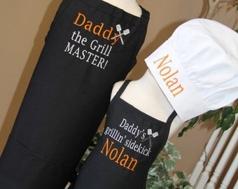 Personalized Embroidered Adult Junior teen Teacher FATHER SON set or brother sister SIBLING