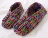 Super Awesome Hand Knit Slippers - For Men and Women