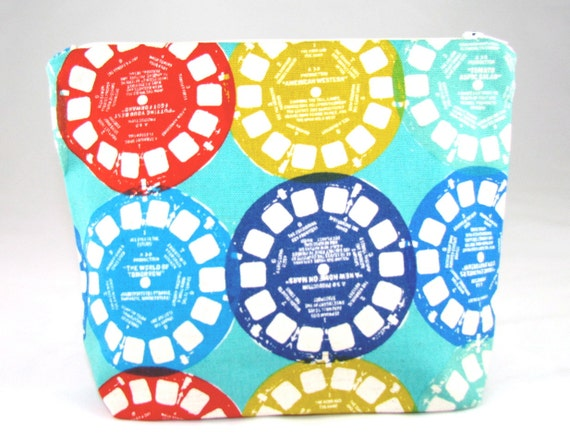 POUCH - View Master Discs
