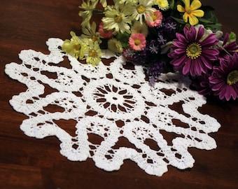 Beautiful Crochet  swirl doily