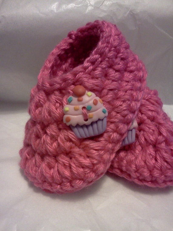 Baby Booties, Slippers.....in Hot Pink