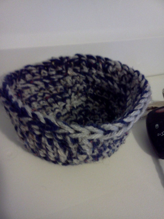 Crocheted Everything Bowls, Storage, Organization, Decorative,