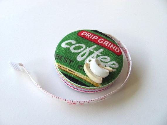 I Love Coffee Tape Measure