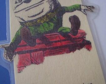 Humpty Dumpty Bookmark (laminated)