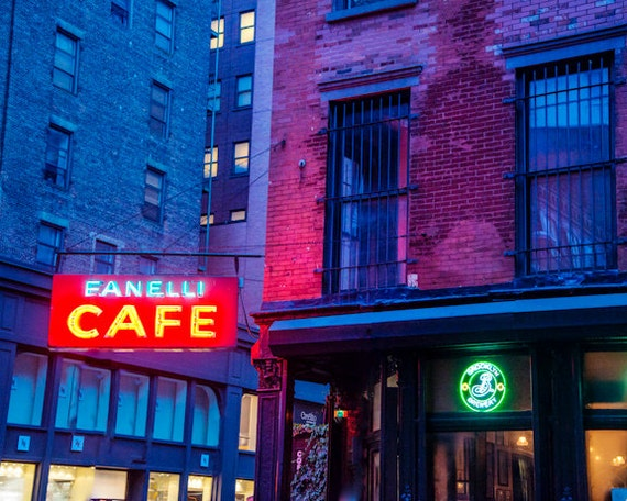 New York Photo nyc photography Manhattan Cafe Restaurant Deli Soho Architecture Urban Photograph Building nyc29