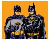Best Bat Buds signed and numbered giclee print