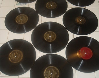 album from the victor talking machine company holding ten records