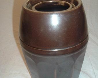 STONEWARE CANNING JAR  no lid