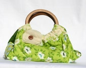 Dish and Casserole Carrier Green Floral