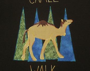Phish inspired  Tshirt  CAMEL WALK  organic cotton