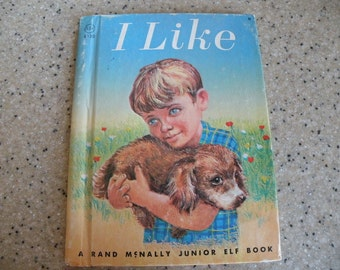 1965 I LIKE Childrens a Junior Elf Book