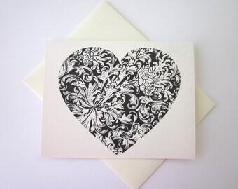 Heart Note Card Set