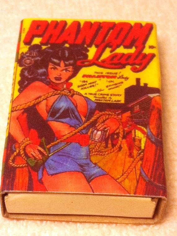 Comic Book Vixens Matchboxes Set of 4