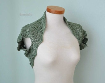 CALLA, Crochet shrug pattern pdf