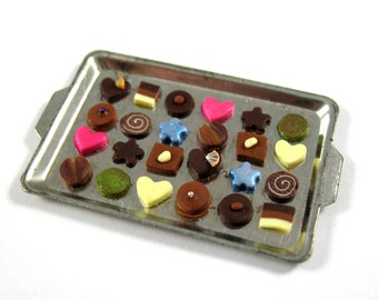 Dollhouse Miniature Food Chocolate Collection in 12th Scale